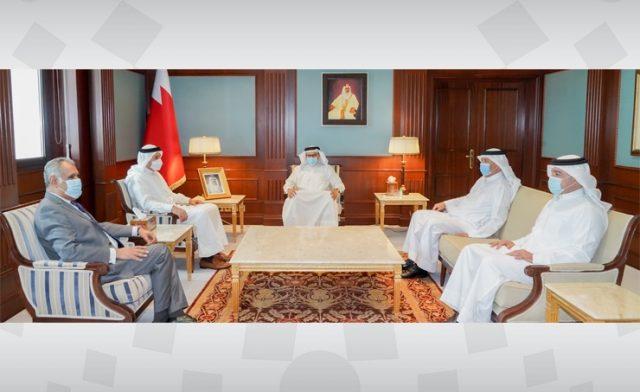 BahrainNOW.net |وزير الخارجية يستقبل كبار المسؤولين في وزارة الخارجية بمناسبة تعيينهم في مناصبهم الجديدة