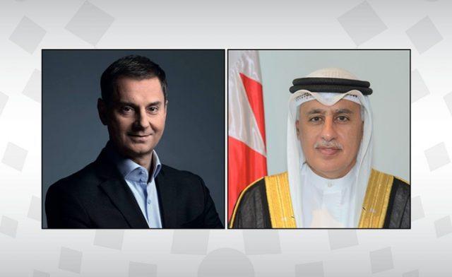 BahrainNOW.net |وزير الصناعة والتجارة والسياحة يبحث مع وزير السياحة اليوناني تعزيز آليات التعاون في القطاع السياحي