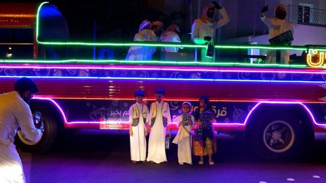 BahrainnNOW.net | الشباب والرياضة تحيي القرقاعون عبر بست السعادة