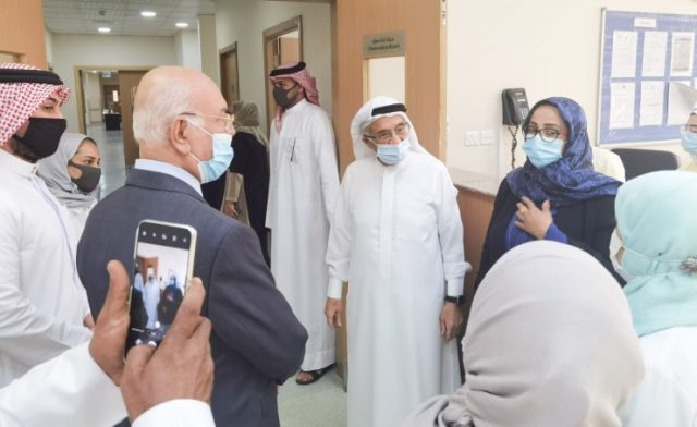 BashrainNOW.net | رئيس المجلس الأعلى للصحة: الارتقاء بمنظومة الخدمات الصحية لمواكبة احتياجات الأهالي في جميع محافظات المملكة
