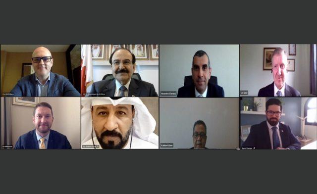 BahrainNOW.net   رئيس هيئة الطاقة المستدامة يناقش مع شركة عالمية أوجه التعاون المشترك