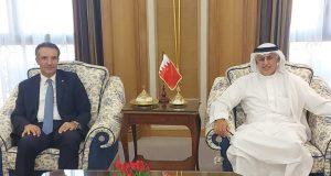 BahrainNOW.net  على هامش فعاليات مؤتمر إنعاش السياحة المقام بالرياض .. الزياني يجتمع بعدد من وزراء السياحة