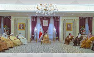 BahrainNOW.net | جلالة الملك المفدى يستقبل رئيس وأعضاء المجلس الأعلى للشئون الإسلامية