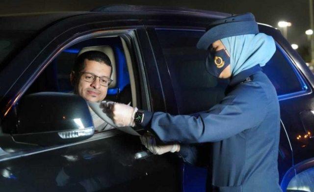 BahrainNOW.net |الإدارة العامة للمرور تشارك في أسبوع المرور العربي بحملات توعوية