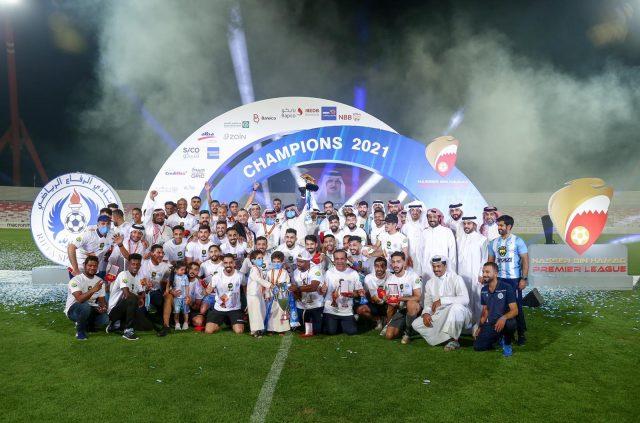 BahrainNOW | خالد بن حمد يتوّج الرفاع بطلا لمسابقة دوري ناصر بن حمد الممتاز لكرة القدم للموسم الرياضي 2020/ 2021