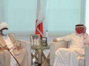 BahrainNOW.net | وزير الصناعة والتجارة والسياحة يستقبل السفير السوداني بمناسبة انتهاء فترة عمله