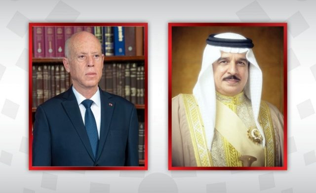 Bahrainnow.net   اتصال هاتفي بين جلالة الملك المفدى والرئيس التونسي